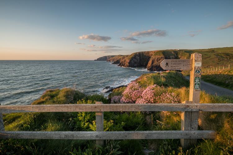 The Pembrokeshire Coast Path