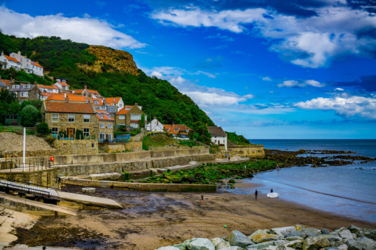 Dog-friendly Yorkshire beach