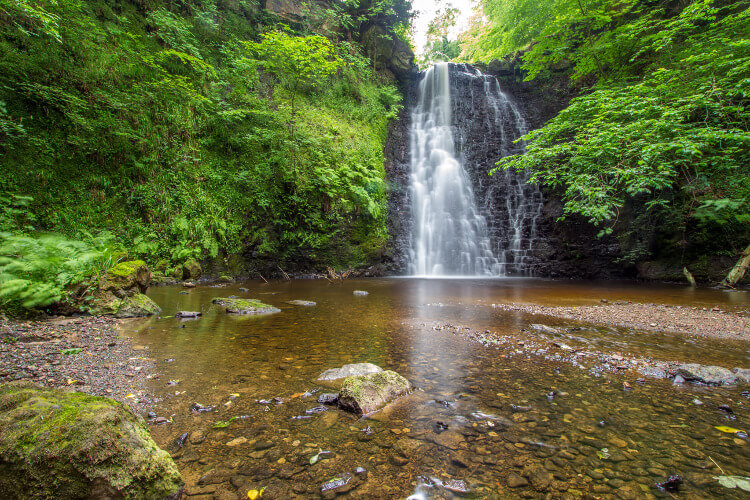 Things to do in Yorkshire - waterfalls