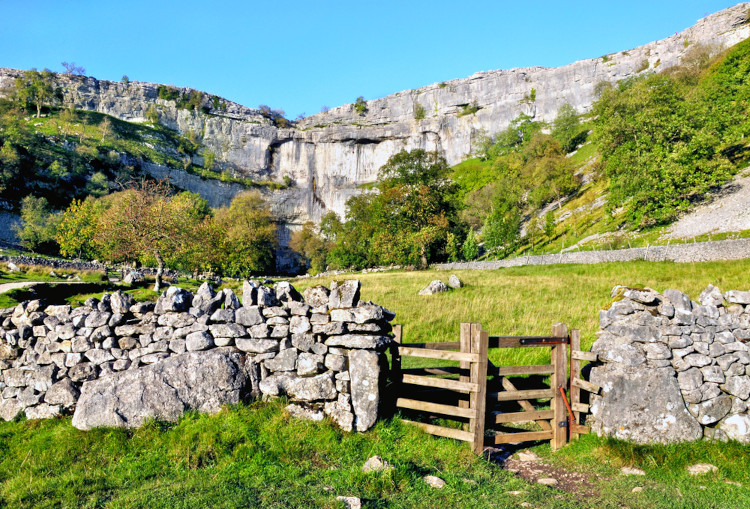 Malham Cove and Janet's Foss