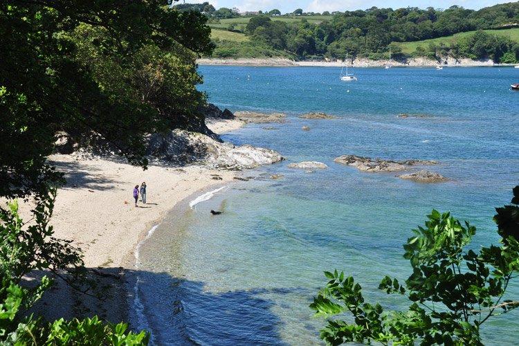 Boshan Cove, a beach in Cornwall