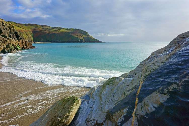 Lantic Bay in Cornwall